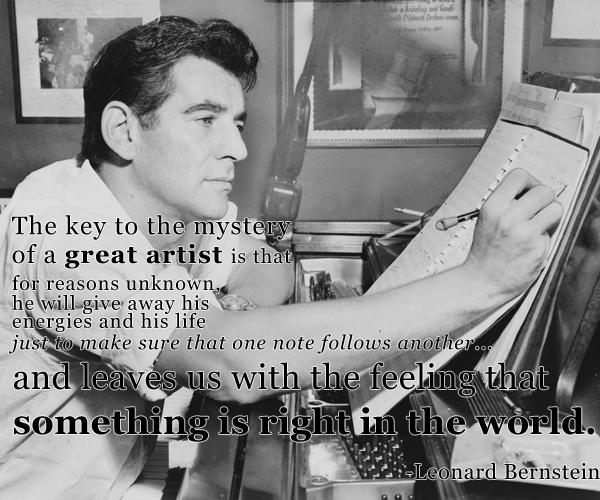 Happy birthday, Leonard Bernstein! http://t.co/grUvS1GSma