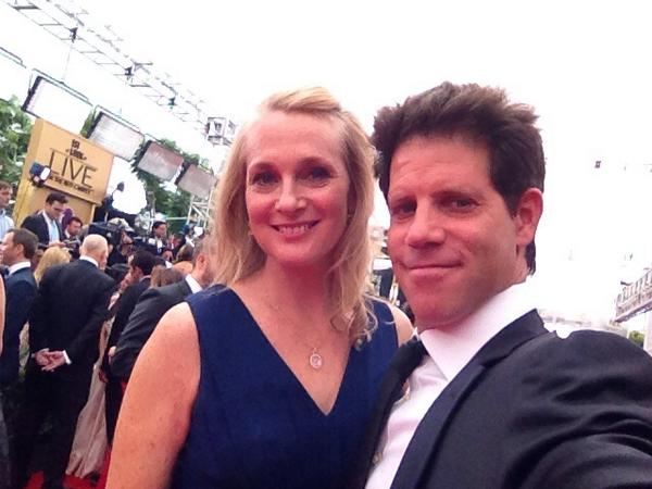 On the red carpet with @piper -- the carpet is long & entertaining. http://t.co/NFOWm2BfeM