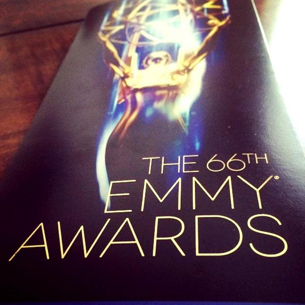 It was a great evening for Television! Time to party!!! #Emmys #ETemmys #ETnow http://t.co/wuw1fR2K4W