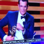 RT @EW: And the winner of Best Supporting Actor in a Comedy is... Ty Burrell of @ModernFam! #Emmys #Emmys http://t.co/XdtK84Fkgb
