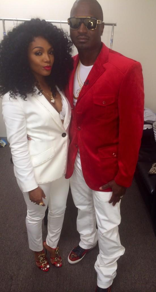 #Lhhatlreunion #LHHATL red & white!!! Me & @FROST117