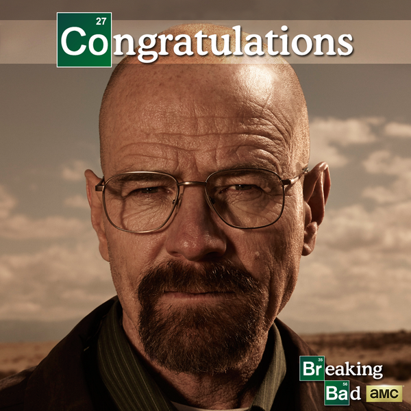 Say my name. Congratulations, @BryanCranston on your #Emmys win! #BreakingBad http://t.co/yjvHMA7cqQ