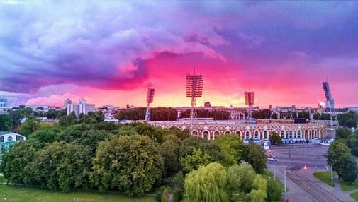 Фантастический снимок стадиона Динамо. #Минск #Динамо #стадион http://t.co/JdW3OrTumz