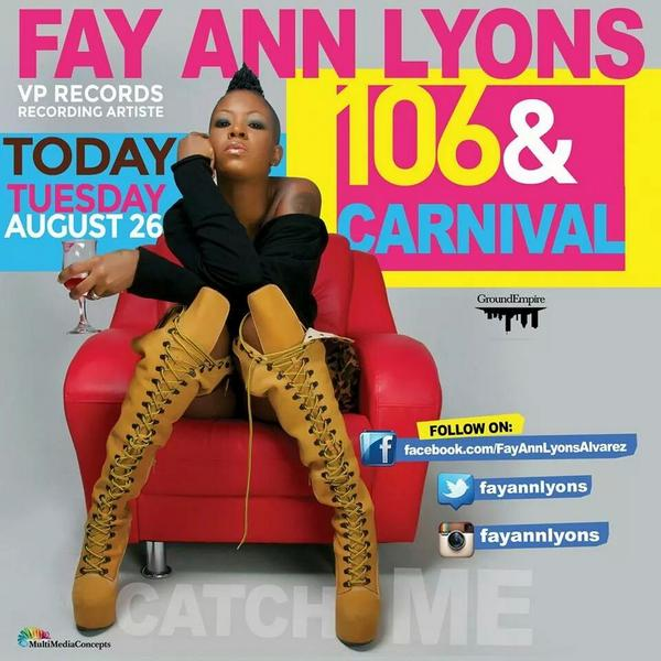 Tell a friend tell an enemy tell a none believer once you believe you can achieve  @fayannlyons on @106andpark #today http://t.co/06tLolkHDS