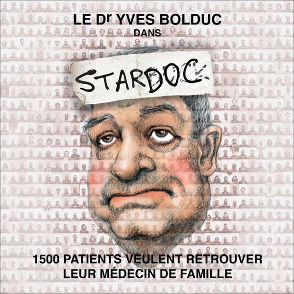 """Le Dr. Yves Bolduc dans """"Stardoc"""". - Serge Chapleau, La Presse http://t.co/iGsWEQkBz8"""