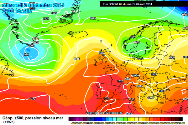 Signs of more settled and warmer weather in September #highpressure http://t.co/IEUSfFTVfx