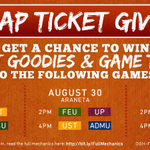 RT @kitkat_ph: Were giving away #UAAP77 tickets to this weeks basketball matches! View full mechanics here: http://t.co/51Pwc3xNjF http://t.co/QAUIxUYksX