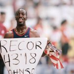RT @iaaforg: #OnThisDay in 1999, @MJGold set the 400m world record of 43.18 at the 1999 IAAF World Championships in Seville. http://t.co/FK…