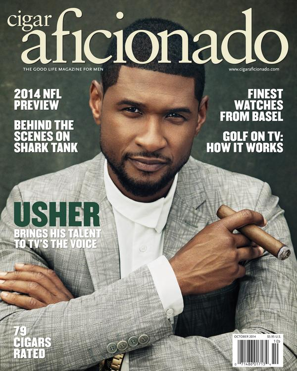 Our October issue, featuring @Usher, is on newsstands now. Full table of contents here: http://t.co/ozOIYMuXja http://t.co/pXRjaTBIPi