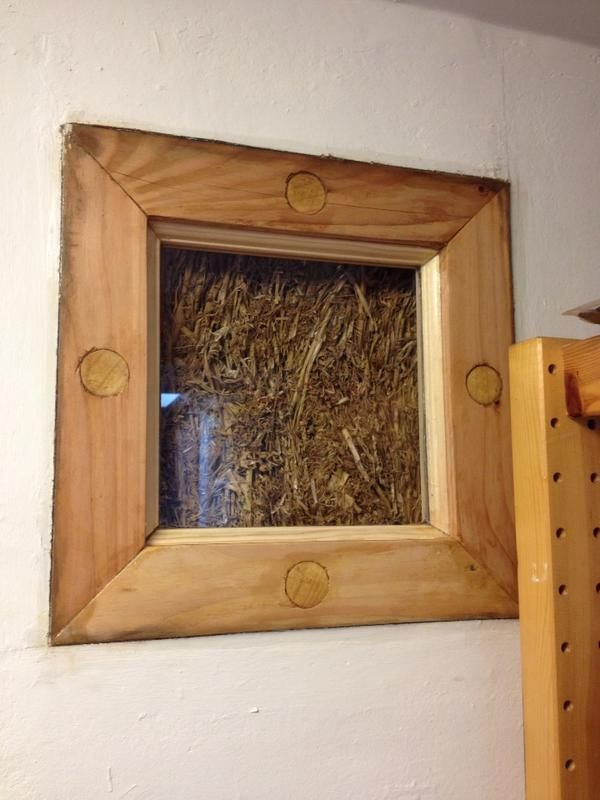 RT @koistycassels: Beautiful RT @the_woodlouse: Another 'finally done' strawbale wall truth-window now glazed and sealed http://t.co/kNDwzOb8fT