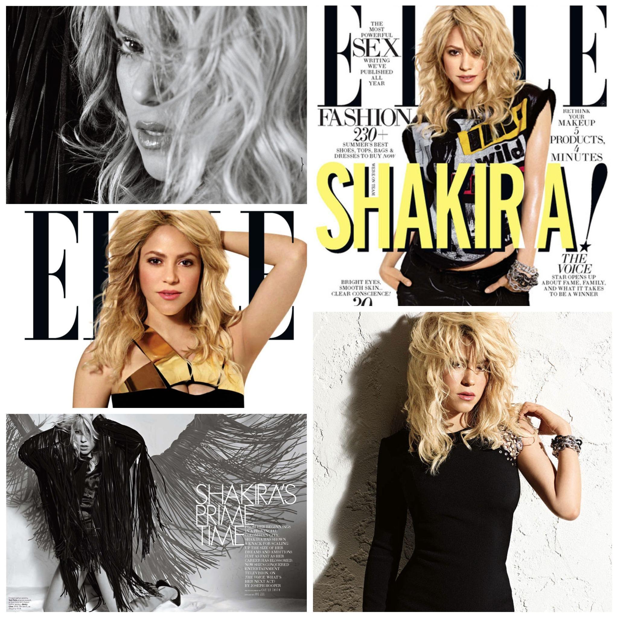 Summer 2013 @ElleMagazine cover #TBT / Verano 2013 en la revista #ELLE ShakHQ http://t.co/Y7XSV5fEOt