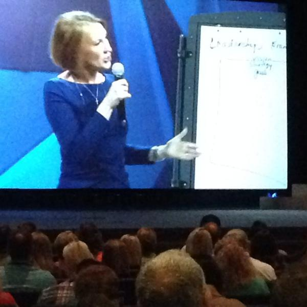 """""""The highest calling of leadership is to unlock the potential of people."""" - Carly Fiorna #GLS14 #Leadership http://t.co/uoi0sNG7T2"""