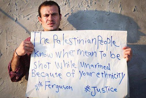 RT @thecrisismag: Palestinians from #GAZA identify w/the ppl of #Ferguson and African Americans struggle for human rights #solidarity http:?