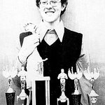 What, these?  Oh, just my speech team trophies.  AND my rubber chicken.  Jealous??  #tbt  #nicecollar http://t.co/dXJnYdmrR3