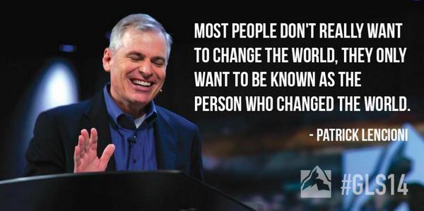 #TRUTH - @patricklencioni #GLS14 http://t.co/TUzOpfQlBG
