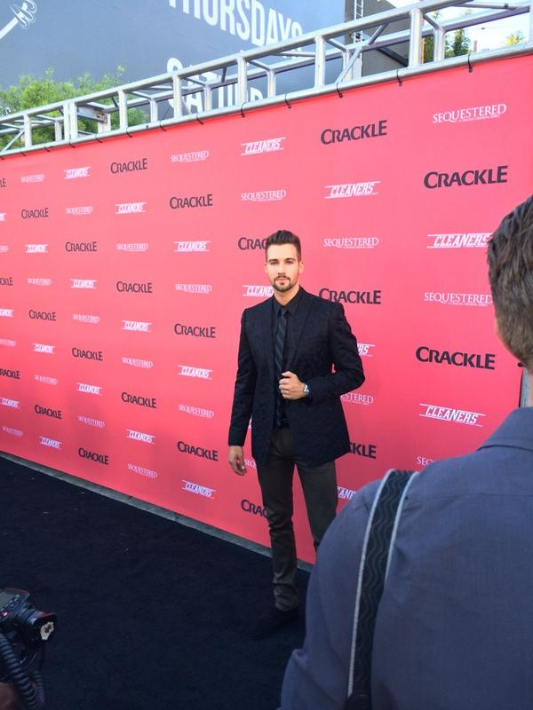 Hanging with @jamesmaslow down at the #Sequestered launch event. http://t.co/5tLiNDJUM6