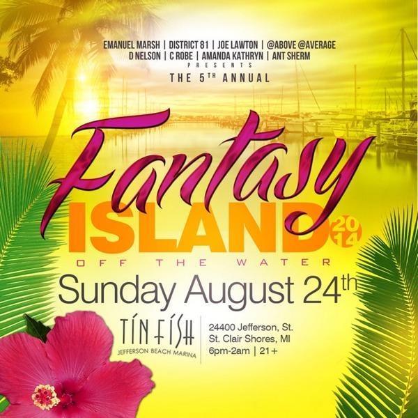 Fantasy Island 2014 Sunday August 24th http://t.co/l1A7iXaJ6X