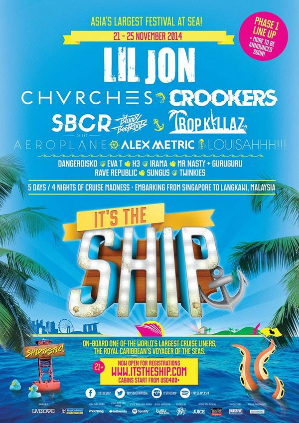 So happy to announce, will be playing at @itstheshipasia on this coming november! #ITSTHESHIP  http://t.co/Q3EEmXT3Bl http://t.co/9pSTZQmbKA