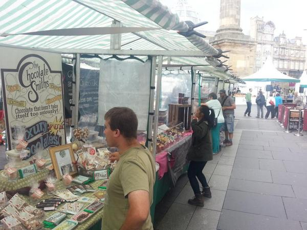The Food Heroes Market is OPEN, 3 days, 36 stalls, the best food and drink from the North East #BuyLocal http://t.co/y3QW7oLWIF