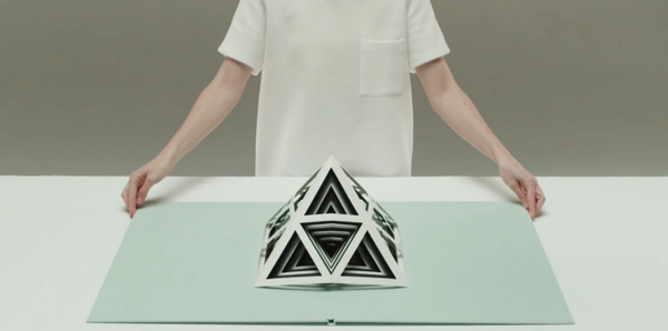 Phenomenal geometric pop-up books by #MITCAST Symposium participant Tauba Auerbach http://t.co/MTWeLgtYaP http://t.co/04iCX00usm