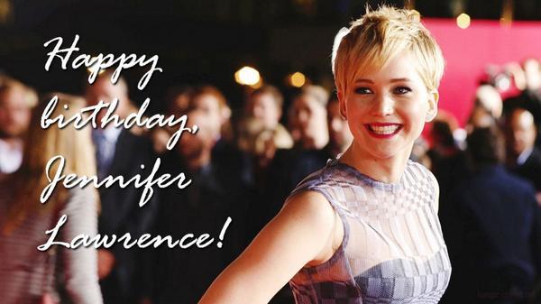 Happy birthday, Jennifer Lawrence!: http://t.co/gJv8YqQuVX http://t.co/yaVavuoO62