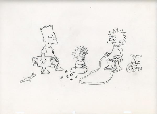 Meanwhile, back in the last week of 1987, we started the 2nd season of Tracey Ullman Show Simpsons shorts. http://t.co/7quslS5JaF
