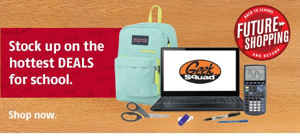 Stock up on the hottest DEALS for school! http://t.co/wuts7jC0DU #FutureShopping http://t.co/O1Ki1yXnKR
