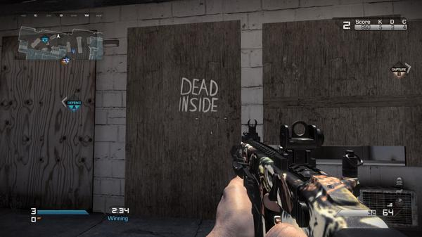 Zombies confimed in Ghosts #PS4share http://t.co/nTH0TPokRw