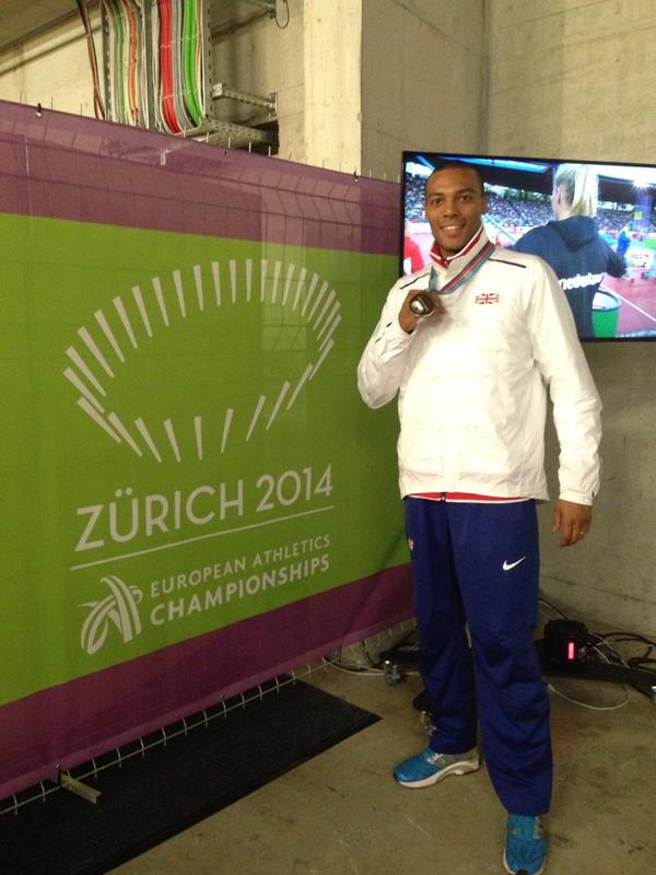 Just received my silver medal #Zurich2014 happy days