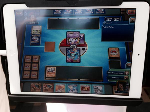 JCC Pokémon Online para iPad