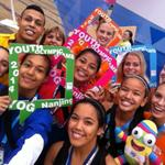 Good morning everyone, with more #YOGselfie fun with athletes! #nanjing2014 @youtholympics http://t.co/8BisbxfwsO