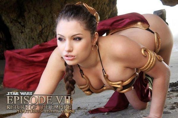 Liz Katz en Slave Leia :3 #cosplay #starwars http://t.co/oRffecXPxg