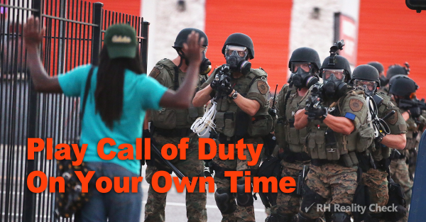 Tell Congress to demilitarize local police departments! > > > http://t.co/HhTrkPtXwx #Ferguson http://t.co/Mh3jjXO1sG