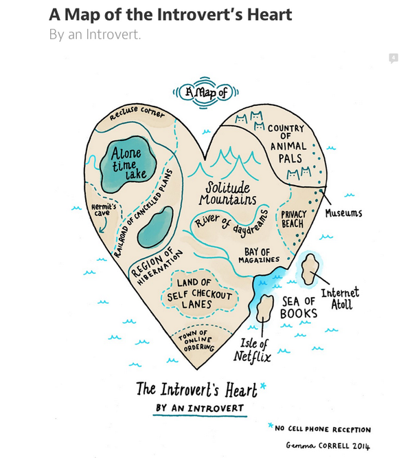 """A Map of an Introvert's Heart""  -By and Introvert http://t.co/w8IBy7dlbR"