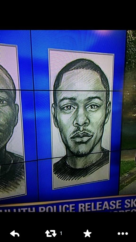 A man is wanted in ATL, they did the sketch and well.... 😂 haha this is crazy. http://t.co/CH3Yi6y9lR