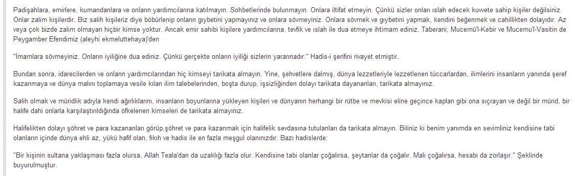 İktidar ve Din adamı arasındaki sınırları anlatan Halidi Bağdadi'nin uyarıları İlahiyatçılara. http://t.co/RmhZJ32AZt