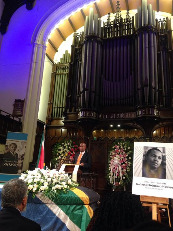 Nat Nakasa's memorial service at the Broadway Presbyterian Church in Harlem. He is finally on his way home. http://t.co/yk4yTceQ9H