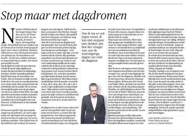 Iedere week een pareltje maar deze keer raakt de column van Pieter Steinz mij recht in het hart #rozevingerigedagen http://t.co/fgsrMgnAoA