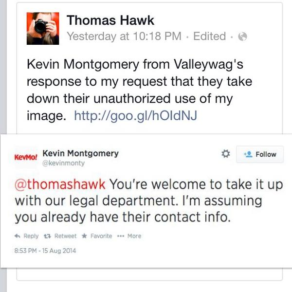 Folks, how would you respond if someone stole your work without permission? This is what @Valleywag does. #classy http://t.co/UZzzW3so5K