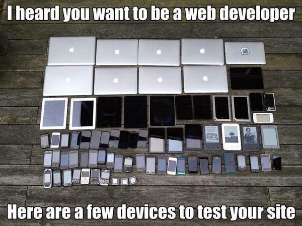 I heard you want to be a Web Developer. http://t.co/8J8x5vlZPN
