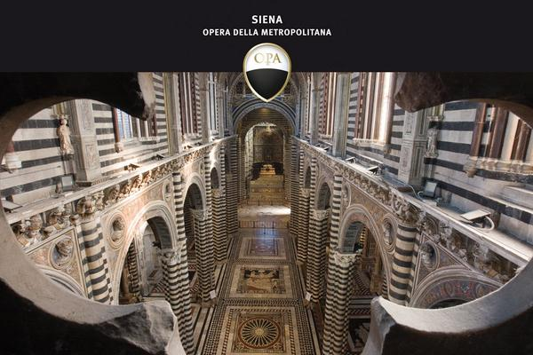 Siena's Duomo unveils its mosaic floor for a few months. Don't miss this opportunity: http://t.co/QZ13T8cKHG http://t.co/qmL0PZj5MH