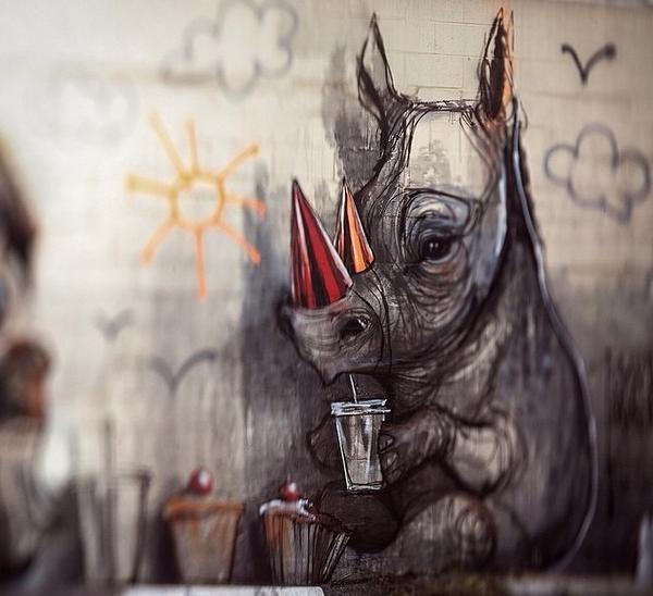 RT @Art4anyone: #streetart gone playful by @Herakut #art #contemporaryart http://t.co/zgYaCS7ZsB