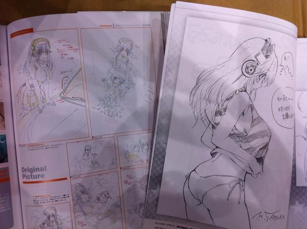 コミケ86最終日開始!!!『ぽにきゃんブース』ではTVアニメ「そにアニ」のグッズ、「ファンブック&スタッフ本」を