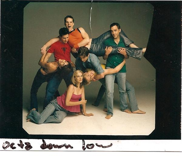 In honor of the now OVER 10,000 signatures on the #QAFMovie petition here's a special behind-the-scenes photo! http://t.co/gYhQKLGPai