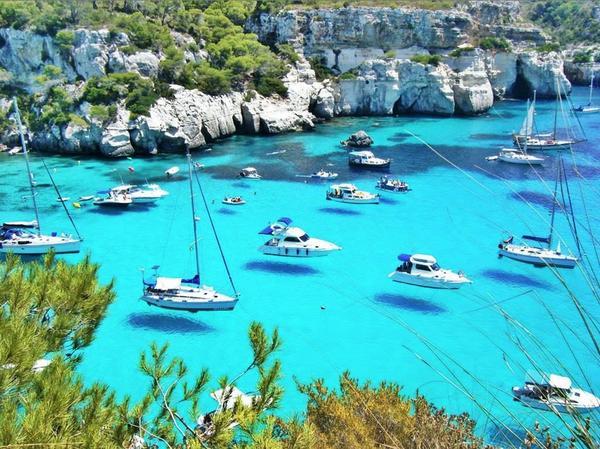 No es lo que ves, es lo que sientes cuando lo ves. #Menorca http://t.co/R6AFvkxvdR