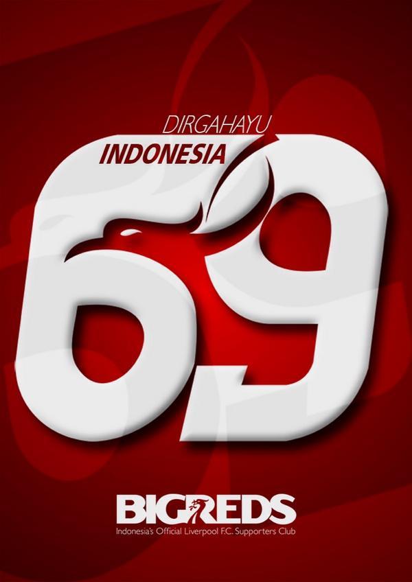 DIRGAHAYU REPUBLIK INDONESIA KE-69 | Semoga selalu damai dan sejahtera #YNWA http://t.co/Ez84Hj2oT6