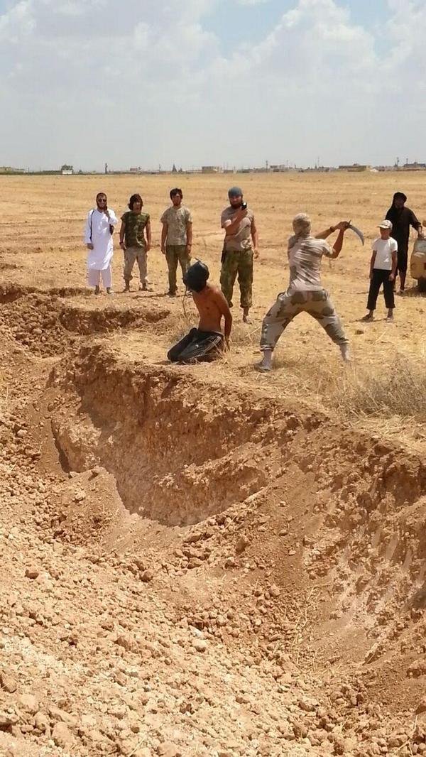 IS(イスラム国)が忍者式斬首術を編み出す(画像有)