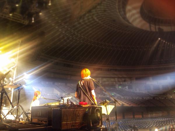 アイドルマスター9th名古屋公演二日目、最高に楽しかったぁ! 僕は今日までの参加ですがツアーは最後の東京まであるので、東京公演に行かれる方は俺の分の想いも持って行って全力で楽しんで来て下さいっ♪ ありがとうございましたっ! http://t.co/JfMt65EDVg