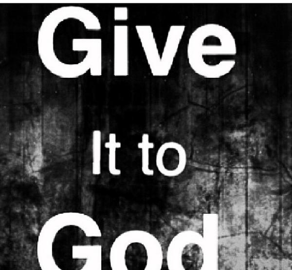 Give it to God. So #simple and so #true! #zenangel #bcwarrior #loveroflife #HappySunday http://t.co/pI8YESizUX