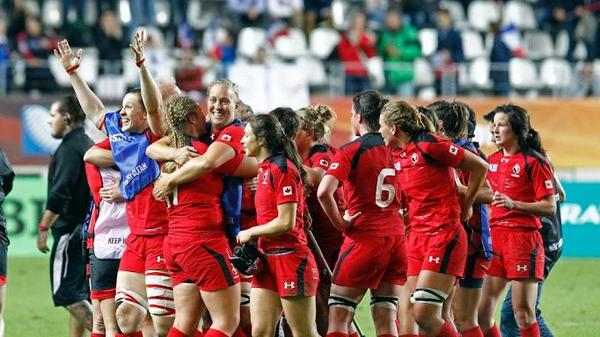 Today, our women do something no Canadian has ever done: Play in a Rugby World Cup Final.  Go Canada! #WRWC2014 http://t.co/eBW6xbMxDk